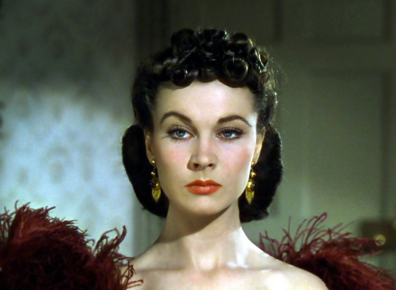 Vivian Leigh as Scarlett O´Hara